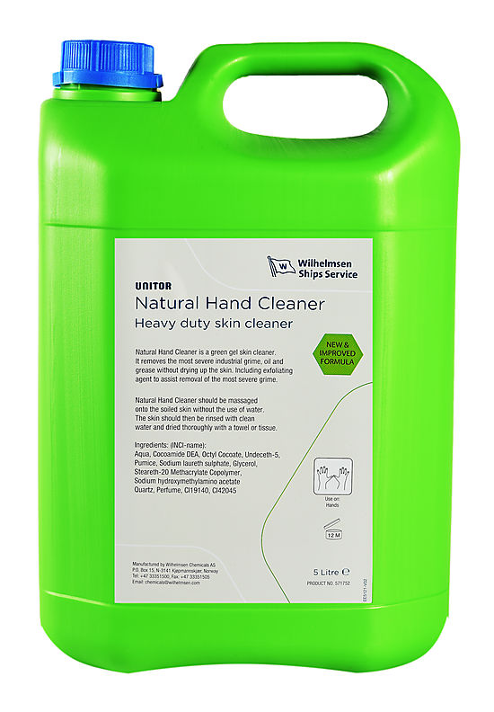 Natural hand cleaner trimmer and edger
