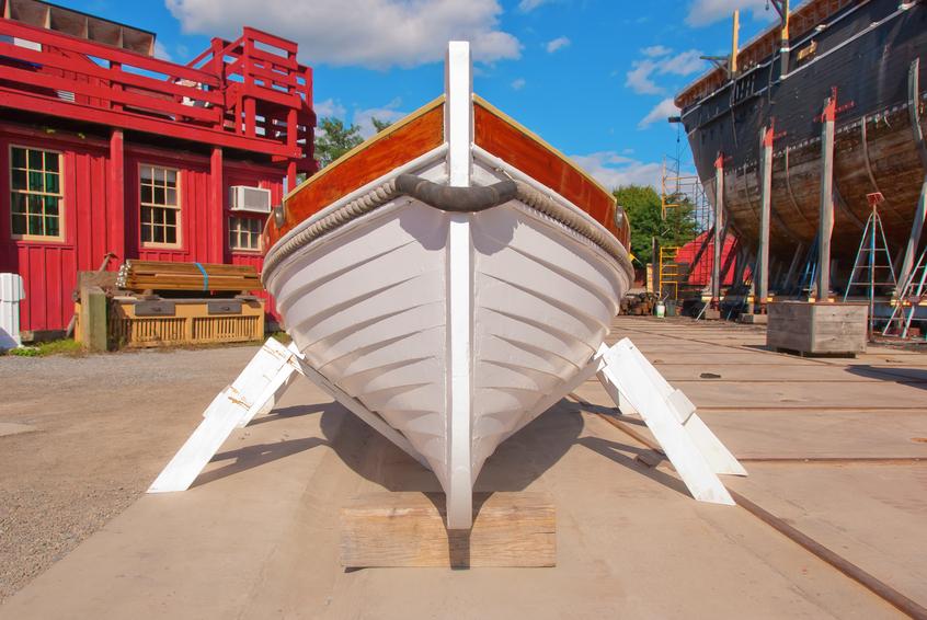 Wooden Boat Keel