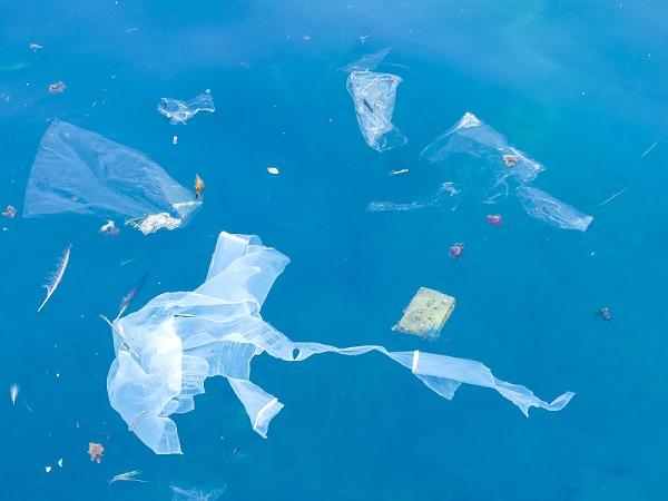 ocean with plastic in it
