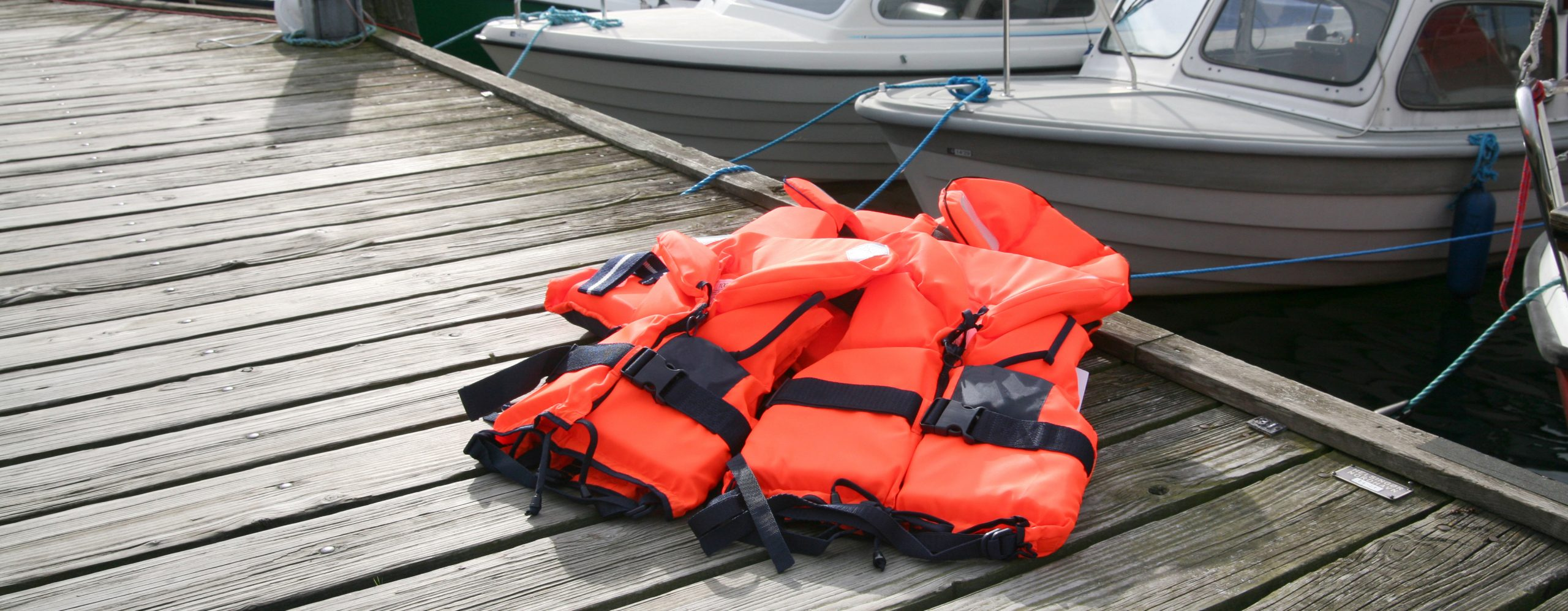Life Jacket on deck