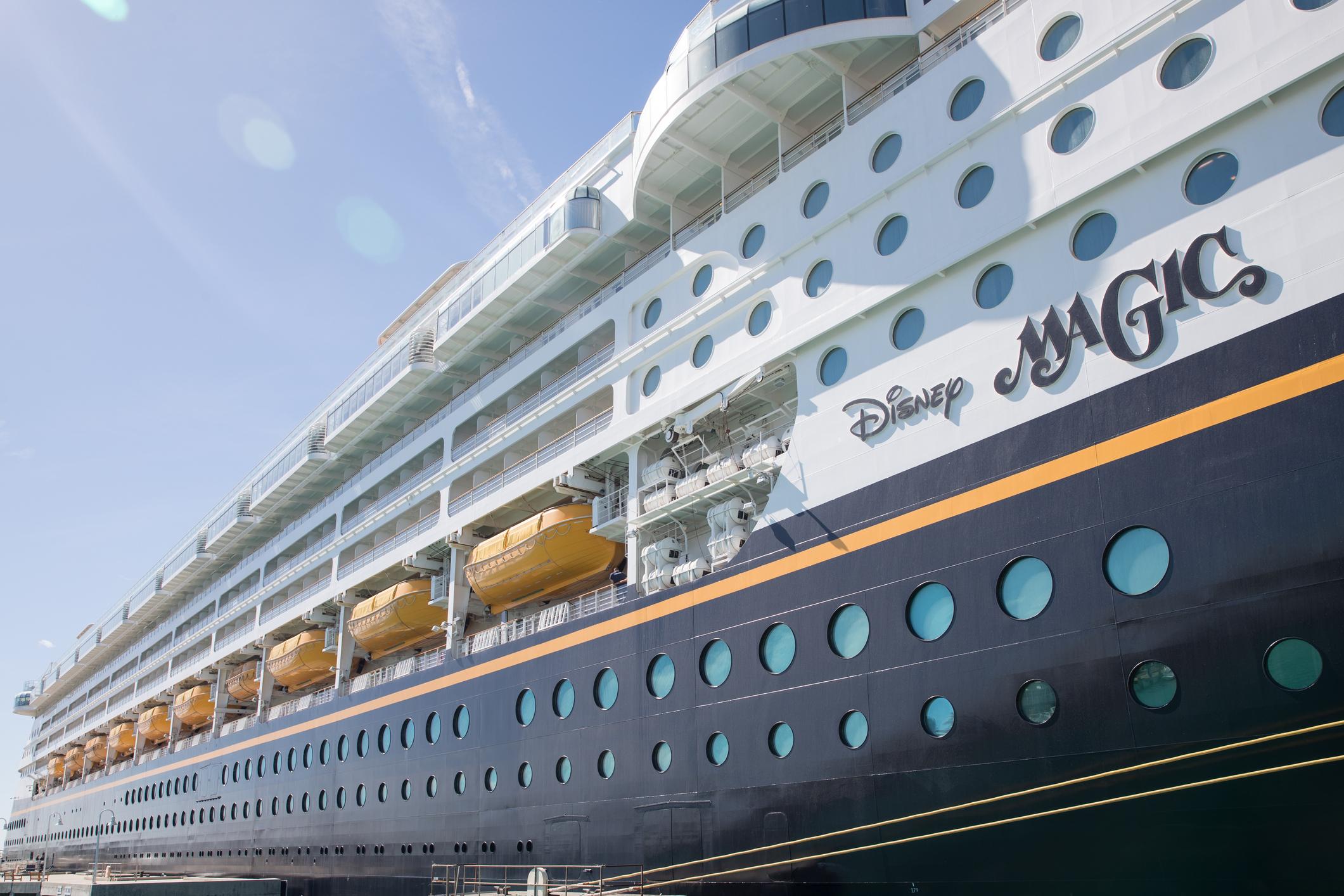 Cruise liner Disney Magic at Key West, Florida